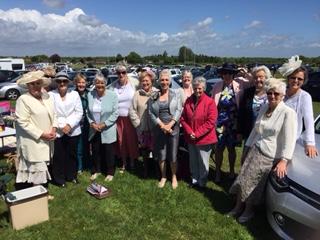 Lindfield ladies at Plumpton races