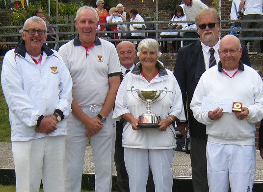 Woodingdean Fours winners
