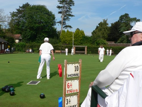 Bowling at Lindfield