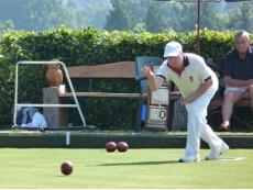 Tom Palmer bowling