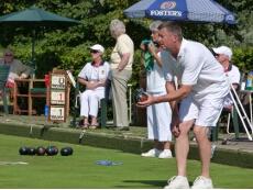 Keith Holman bowling
