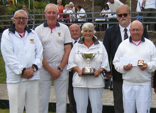Woodingdean Fours winners